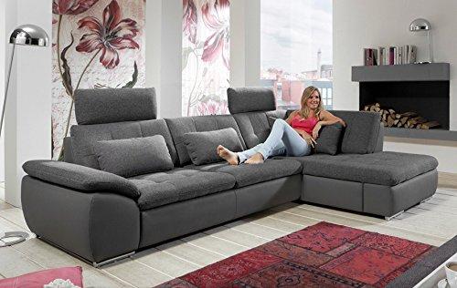 Loungesofa Wohnlandschaft Sofa Couch Ecksofa Eckcouch Plansofa Funny C Megapol