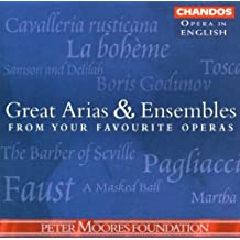 V1 Great Arias/Ens From Your