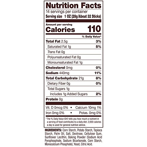Snyder's of Hanover Gluten Free Pretzel Sticks, 14 Ounce