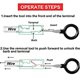 56 Pieces Terminals Removal Key Tool Set Car Pin