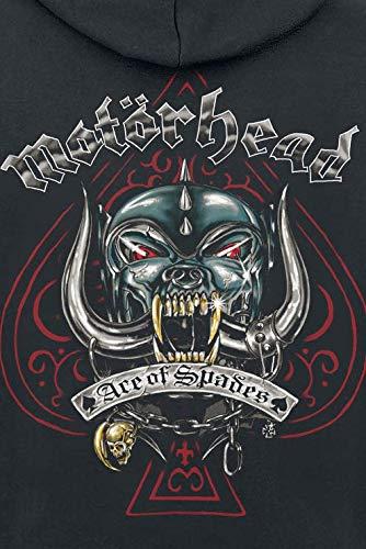Motörhead Ace Dog Tattoo Kapuzenjacke schwarz 4XL: