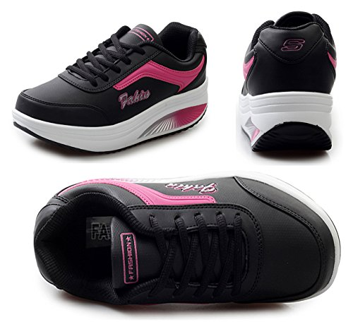 NEWCOLOR Sint Zapatillas NEWCOLOR Zapatillas de S04qx