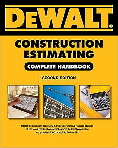 DEWALT Construction Estimating Complete Handbook: Excel