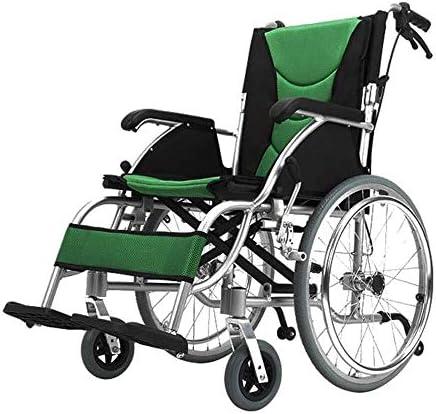 ZXCMNB Rollstühle, Transit-Reiserollstühle Stabiler Aluminium-Fahrstuhl Mit Handbremse Und Anti-Rutsch-Rad (Size : B)