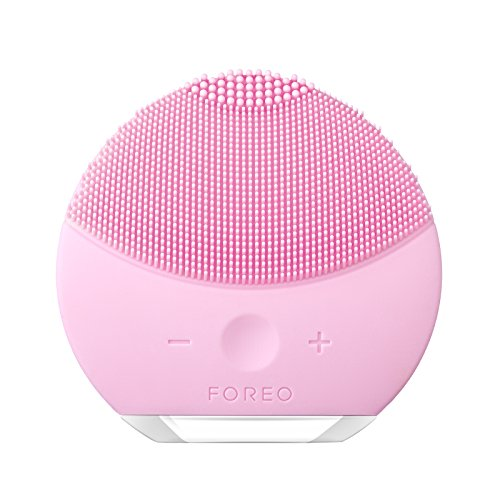 FOREO LUNA mini 2 Facial Cleansing Brush, Gentle Exfoliation and Sonic Cleansing for All Skin Types, Pearl Pink by FOREO (Image #1)