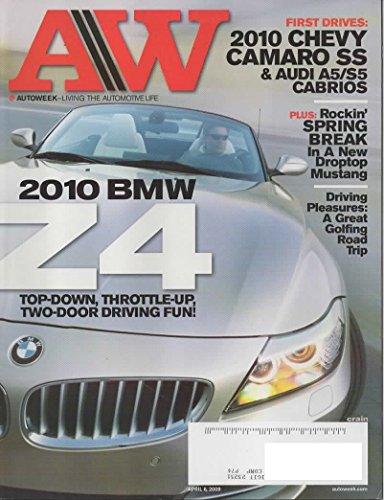 AW Autoweek Magazine (Auto Week), April 6, 2009 (Vol 59, No 7)