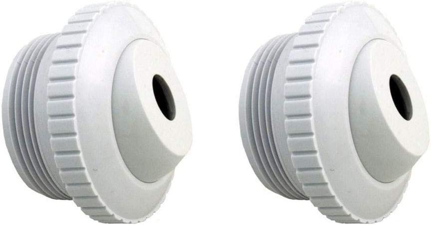 "ATIE PoolSupplyTown Pool Spa 1/2"" Inch Opening Hydrostream Return Jet Fitting with 1-1/2"" Inch MIP Thread Replace Hayward SP1419C (2 Pack)"