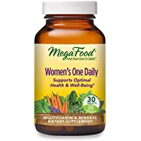MegaFood Women's One Daily - Women's Multivitamin - with B Complex Vitamins, Iron, and Vitamin D - Gluten Free and Made…