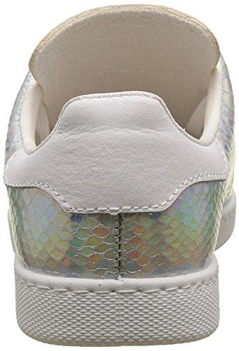 Victoria Deportivo Serpiente Holograma, Zapatillas de Baloncesto para Mujer Argent (plata)