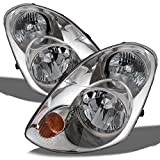 04 infiniti headlights - 03-04 Infiniti G35 Sedan Replacement Halogen Type Headlights Driver/Passenger Head Lamps Pair New