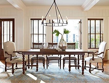 Amazon Com Paula Deen Home 596655 Dogwood Dinner Table Tables