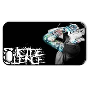 Cool Snap-on iphone 4 4S 4G Case -Deathcore Band Suicide Silence Custom Printed Back Case Protector -2