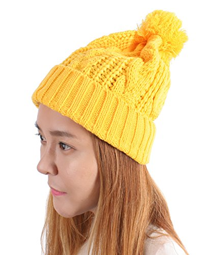 Women (Yellow Beanie Hat)