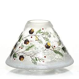 Yankee Candle Pinecone Crackle Jar Shade
