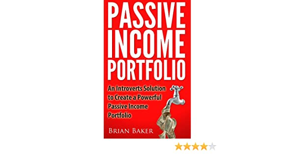 Most of my passive income comes from stocks and bonds, real estate, and e-book sales