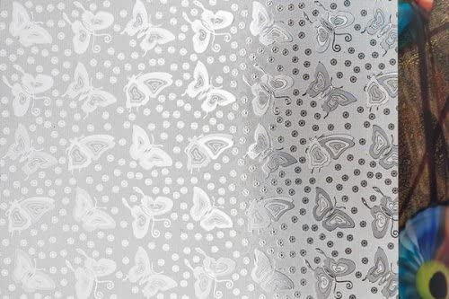 Decorative Window Film, Fluttering Butterfly Design, 36 Wide by 6.5 Ft