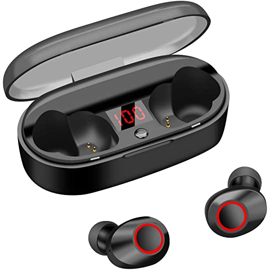 430dfe831b1 Don't Miss This Deal on Wireless Earbuds Bluetooth 5.0 20H Playtime IPX5  Waterproof True Bluetooth Wireless Earbuds 3D Stereo Sport Wireless Earbuds  ...
