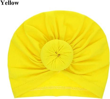 Accessories Hairbands Winter Cap Kids Baby Turban Newborn Beanie Hat Ball Knot