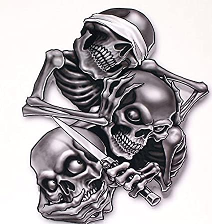 See no evil hear no evil speak no evil decal 5 shipped from the united