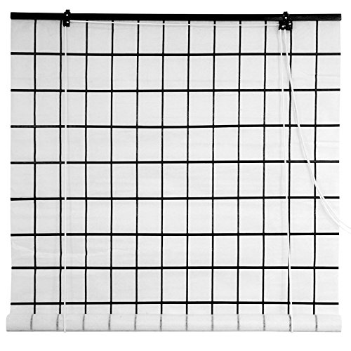 furniture amazon home shoji ca blinds oriental dp kitchen inch roll white paper up window wide