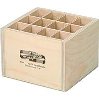 Koh-I-Noor 9476 - Stiftebox Aufbewahrungsbox Pinselbox Stifteköcher aus Holz