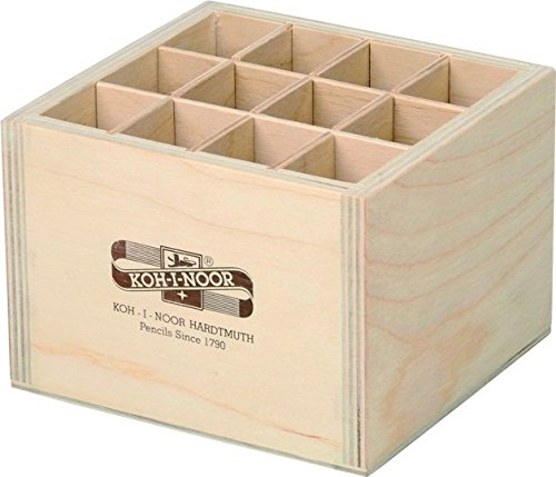 Koh-I-Noor Wooden Display 12 Compartments (120x115x86mm) Koh-i-noor Hardtmuth A.s.