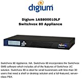 Digium Switchvox 80 SMB Appliance up to 30 Users 12 Concurrent Calls 1AS800010LF by Digium