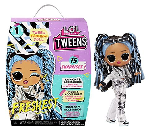 LOL Surprise Tweens Fashion Doll Freshest with 15 Surprises Including Outfit and Accessories for Fashion Toy Girls Ages…