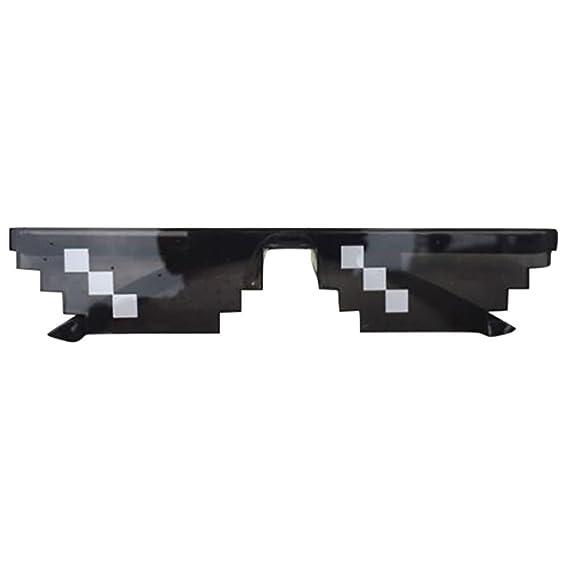 SOJOS Thug Life Gafas De Sol Mosaico 8 Bit Pixel Diversión SJ2049 Yp7DZZI886