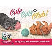 Nostalgic Art Cute Cats Club Magnet