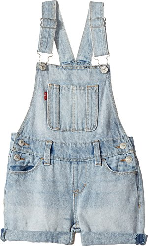 Levi's Kids Girl's Boyfriend Shortall (Little Kids) Bleach Out 6X (Little Kids) by Levi's