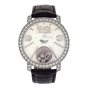 Chopard Happy Diamonds analog-quartz womens Watch 207450-1002 (Certified Pre-owned)