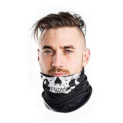 Multifunctional American USA Flag Headband Bandana,Wear it as a Neck Gaiter,Balaclava, Helmet Liner, Mask & More. For Outdoor Activities-Fishing/Hunting/Camping/Hiking/Sports/Motorcycle/Riding/Cycling