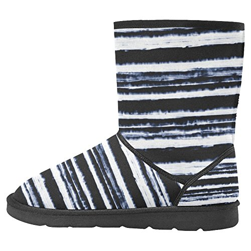 InterestPrint Womens Snow Boots Unique Designed Comfort Winter Boots Multi 3