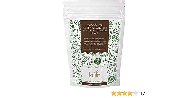 Kula Nutrition Batido Sustitutivo de Comida 300g - Proteína de Soja para Adelgazar Baja en Azúcar y Grasas - Con Chocolate, Vitaminas y Minerales - ...