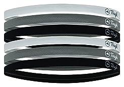 Athletic Sports Headbands - 6 Pack Thin ...
