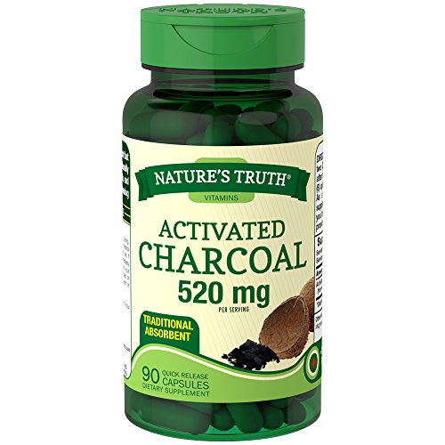 Nature's Truth Activated Charcoal, 1 Pack