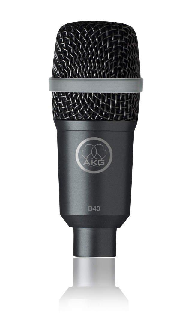 AKG 2815X00050 D40 Professional Dynamic Instrument Microphone
