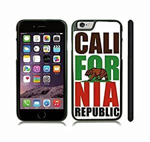 Case Cover For SamSung Galaxy Note 3 with California Republic/ Golden Bear/ White Background Design Snap-on Cover, Hard Carrying Case (Black)