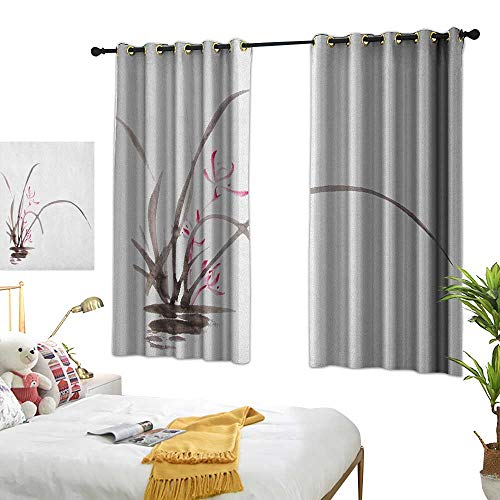 (Bedroom Curtains W63