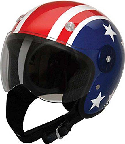 Stars And Stripes Motorcycle Helmet - 6