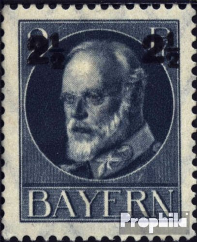 Ludwig Rubber - Bavaria 111A A tested peace rubber 1916 King Ludwig III. (Stamps for collectors)