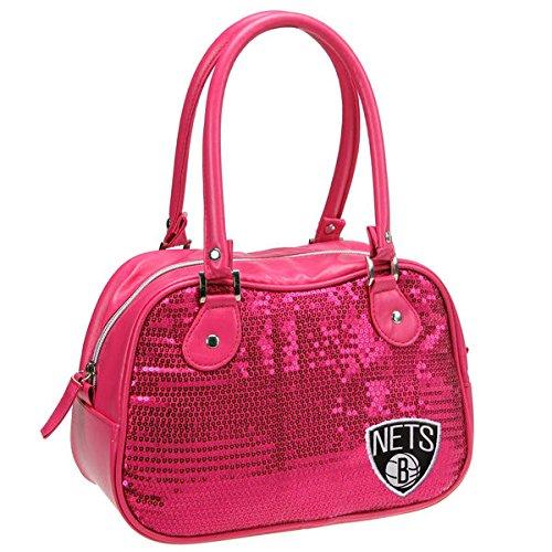 NBA Miami Heat Repro Handbag, Neon Pink by Concept One Accessories