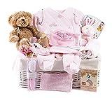 Wickers Just For Baby Deluxe Hamper - GIRL | Wickers Gift Baskets