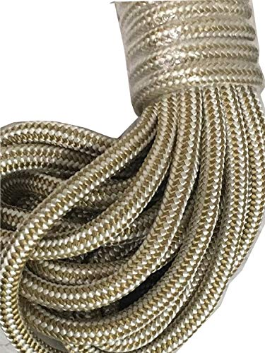 Double Braid Nylon Rope Gold 1/2 inch by 50 feet