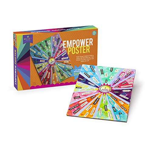 51MA1JniqcL - Craft-tastic – Empower Poster – Craft Kit – Design a One-of-a-Kind Inspirational Poster