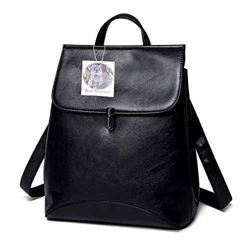 23430608d4ed WINK KANGAROO Fashion Shoulder Bag Rucksack PU Leather Women Girls Ladies  Backpack Travel bag