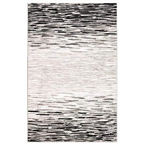 M by Liora LA245B91348 Crescent Ombre Wave Indoor Rug 3'3