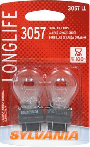 Sylvania 3057LL Long Life Miniature Lamp, (Pack of -