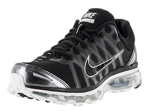 Nike Mens Air Max 2009 Running Shoe, Nero/grigio neutro/grigio scuro/nero, 43 D(M) EU/8.5 D(M) UK